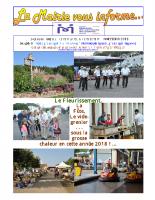La Mairie vous informe 59 octobre 2018