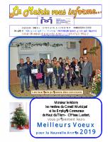La Mairie vous informe 60 janvier 2019