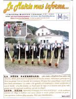 La mairie vous informe n°51 – Octobre 2016