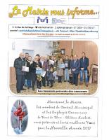 La mairie vous informe n°52 – Janvier 2017