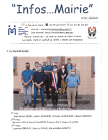 Infos…Mairie 01 de juin 2020