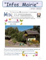 Infos…Mairie 02 d'août 2020